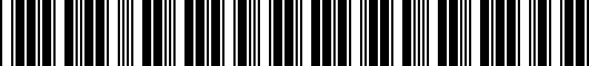 Barcode for 5C0087015041